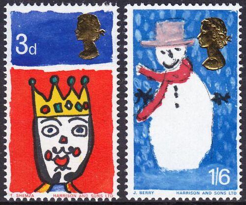 1966 weihnachten kinderzeichnungen briefmarken. Black Bedroom Furniture Sets. Home Design Ideas