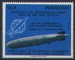 Paraguay 1975  Luftschiff  LZ 127