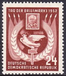 1952  Tag der Briefmarke
