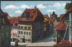 Nürnberg - Albrecht Dürer-Haus - - Briefmarken-Versand-Welt.de