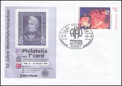 1999  Internat. Briefmarkenmesse Philatelia