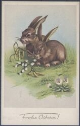 Frohe Ostern - Hasen