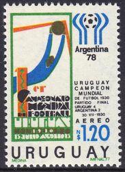 Briefmarke Philatelie Argentinien 1977