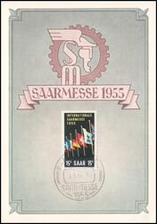1955  Internationale Saarmesse