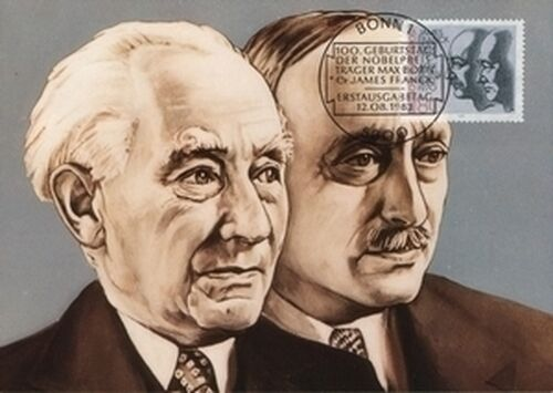 1982 Maximumkarte Born Frank Briefmarken Versand