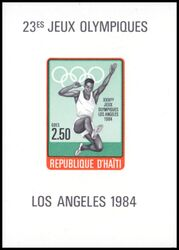 Haiti 1984  Olympische Sommerspiele in Los Angeles