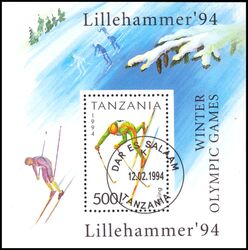 Tansania 1994  Olympische Winterspiele in Lillehammer