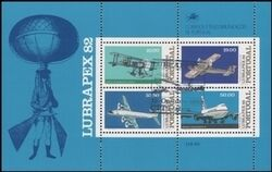 1982  Internationale Briefmarkenausstellung LUBRAPEX `82