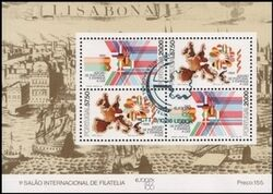 1986  Internationale Briefmarkenausstellung EUROPEX `86