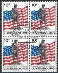Luxemburg Briefmarken Luxemburg 40 Europa Jahrestag Der Befreiung 1111 Postfrisch